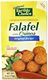 Natures Earthly Choice Quinoa Falafel, Original, 6 Ounce (Pack of 6)