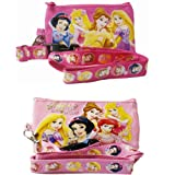 Disney Princess Lanyards 2PC. Set with Detachable Coin Purse