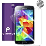 Fosmon Crystal Clear Screen Protector Film for Samsung Galaxy S5 (Retail Packaging) - 3 Pack