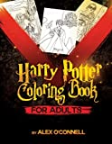 Harry Potter Coloring Book For Adults: Adult Coloring Books - Stress Relief Coloring (Volume 4)
