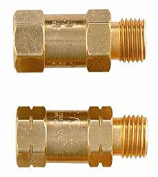 Smith Equipment H698 Regulator Mount Reverse Flow Check Valves 1 Pair