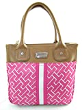 Tommy Hilfiger Small Tommy Handbag Purse Pink Multi