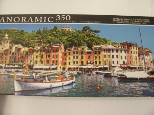 Panoramic 350 Piece Puzzle ~ Riviera Di Levante, Portofino, Italy by LPF