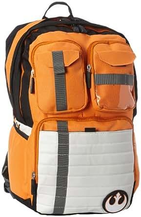 Bioworld Big Boys' Star Wars Rebel Alliance Icon Backpack, Multi, One Size