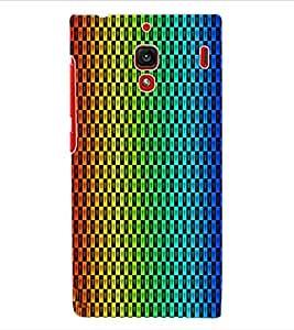ColourCraft Hearts Pattern Design Back Case Cover for XIAOMI REDMI 1S