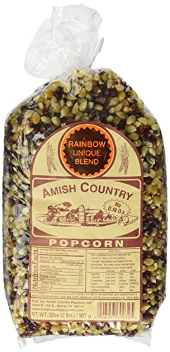 Amish Country Rainbow Blend Popcorn 2 lb. (Popcorn Blend compare prices)