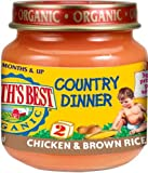 Earth's-Best-Organic-Country-Dinner-2nd-Chicken-Brown-Rice-4-Ounce-Jars-Pack-of-12