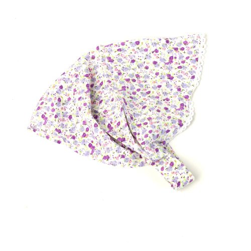 Peppercorn Kids Girls' Spring Cuteness Head Scarf - Purple - One Size (Head Scarf For Girls compare prices)