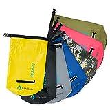 Såk Gear Premium Waterproof Dry Bag with Exterior Zip Pocket Shoulder Strap and Reflective Trim
