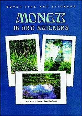 Monet: 16 Art Stickers (Dover Art Stickers)