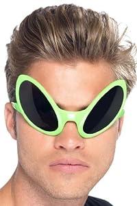 Smiffy's Alien Eye Shades (Green)