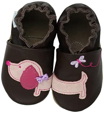 (历史最低)Robeez 软底易穿婴儿鞋 Dachshund-G Soft Sole Slip-On (Infant)全鞋号 $21.65