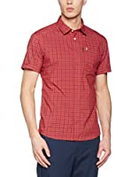 ZZZ-PEAK PERFORMANCE Camisa Hombre Gust Ch Ss (Rojo)