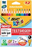 Bic Kids Evolution Triangle Colouring Pencils (Pack of 12)