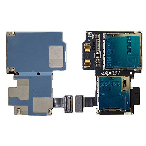 For Galaxy S4 i9500 i9505 i337 M919 Sim Card Memory SD Card Flex Cable REV 1.3 - All Repair Parts USA Seller by AllRepairParts [並行輸入品]