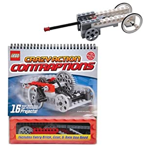 Lego Crazy Action Contraptions Kit by Klutz