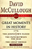 Image of David McCullough Great Moments in History E-book Box Set: 1776, The Johnstown Flood, Path Between the Seas, The Great Bridge, The Course of Human Events