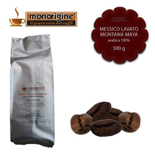Caffè in Grani Messico Lavato SHG Montana Maya 500 gr - Caffè Monorigine Arabica 100%