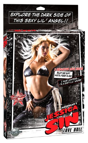 Pipedream Products Jessica Sin City Love Doll, Flesh