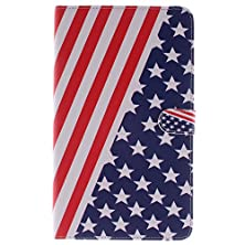 buy Evergreen Samsung Galaxy Tab S 8.4 Inch T700 Folio Case Cover Stylish Us American Flag Leather Flip Card Slots Stand Case With Free Dustproof Plug