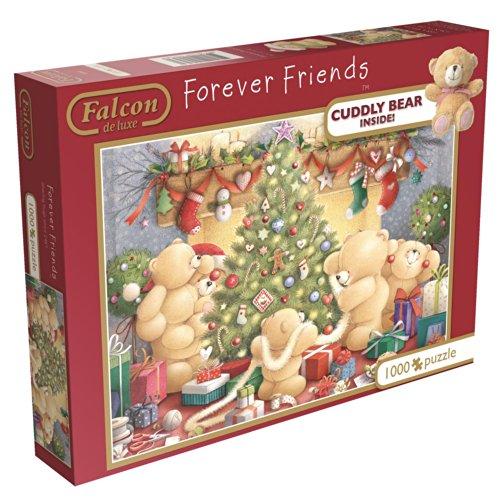 Forever Friends Falcon De Luxe Jigsaw Puzzle con peluche Teddy Bear (1000 Pezzi)