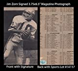 Jim Zorn Signed 3.75x6.5 Magazine Photo SL Authentic Seattle Seahawks Autograph at Amazon.com