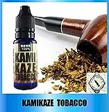VAPEofJUICE 新発売!KAMIKAZE E-JUICE 「TOBACCO」たばこ 15ml タバコ風味 ニコチン無し 国産 電子タバコ リキッド