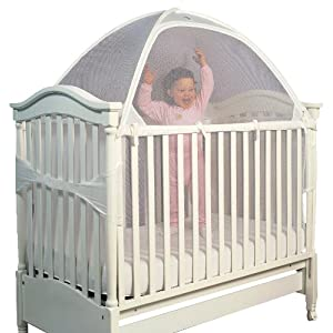 sc 1 st  Bestseller Product for Baby and Kids & Tots In Mind Cozy Crib Tent II 1 White
