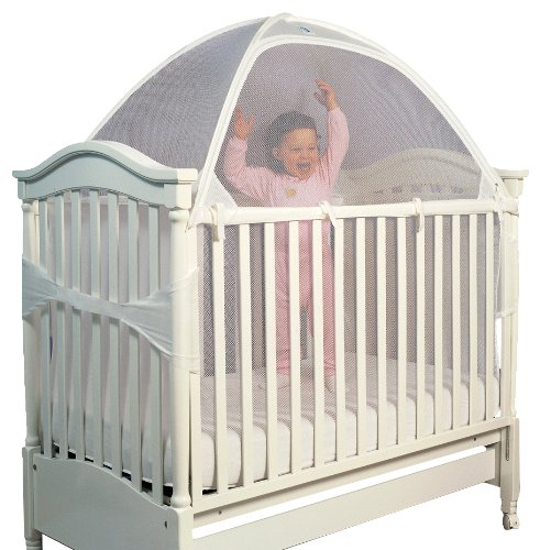 Tots In Mind Cozy Crib Tent II 1, White