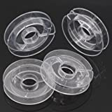 PEPPERLONELY Brand 20PC Empty Plastic Spools For Beading Wire Thread String 50mm (2 Inch)