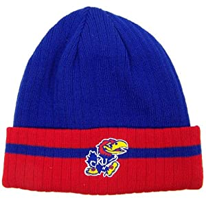 Buy Kansas Jayhawks Official NCAA One Size Knit Beanie Hat by Top of the World