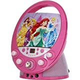 Disney Princess 66205 Wint Disney Princess Flashing Durable Colorful Beautiful Karaoke For Kids