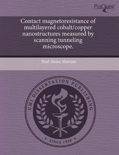 Contact Magnetoresistance Of Multilayered Cobalt/Copper Nanostructures Measured By Scanning Tunneling Microscope.