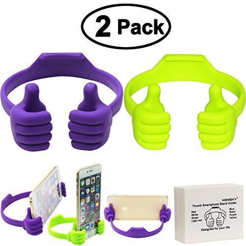 honsky-thumbs-up-phone-stand-for-tablets-e-readers-and-smart-phones-2-pack-green-purple