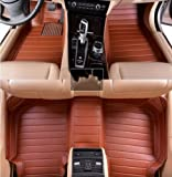 AudelTech Buick New Lacrosse Floor Mats & Car Mats Next Generation Custom Fit Full Surrounded Luxury Floor Liners Brown