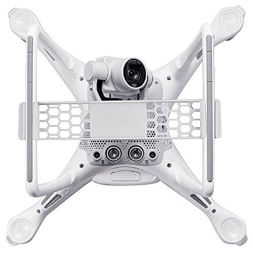 kuuqa-camera-gimbal-guard-gimbal-protector-for-dji-phantom-4-lightweight-honeycomb-texture-white