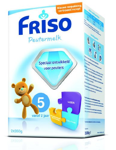 Friso Toddler 5 - 2x350 Gr. (Imported From Holland)