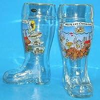 0.5 Liter Oktoberfest German Glass Beer Boot by Pinnacle Peak