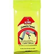 Kiwi Express Shine Leather Care Wipes-15PK CLEAN & SHINE WIPES