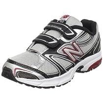 New Balance 632 Running Shoe (Little Kid/Big Kid),Silver/Black/Red-SB,2.5 M US Little Kid