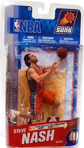 McFarlane Toys NBA Series 19 Steve Nash 3 Action Figure (Steve Nash Action Figure compare prices)