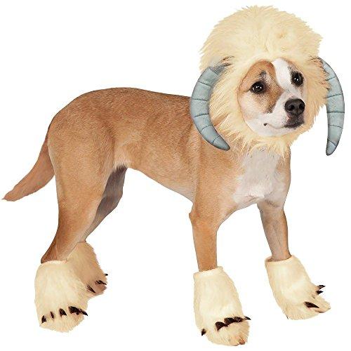 Star Wars Wampa Dog Costume Size Medium