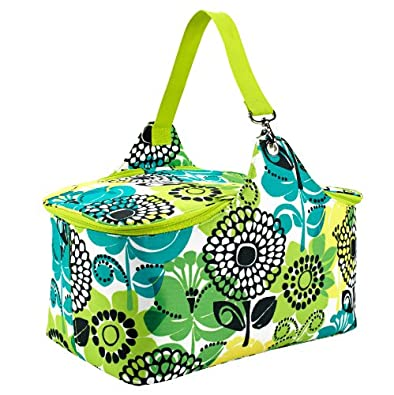 Vera Bradley So Cool Picnic Tote in Lime's Up