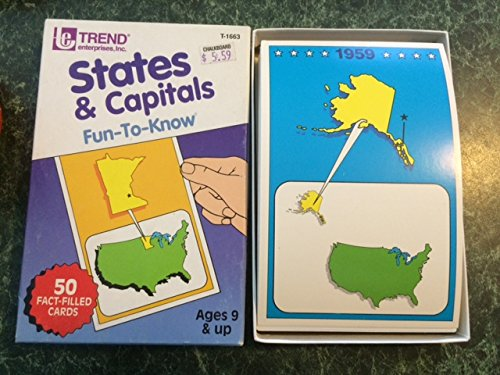 States & Capitals, Fun-To-Know: 50 Fact-Filled Cards - 1