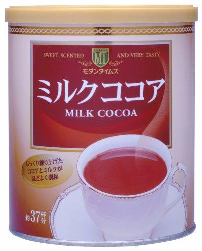 【Amazonの商品情報へ】モダンタイムス ミルクココア520g缶