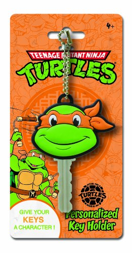 Nickelodeon Ninja Turtles Michelangelo Key Holder Key Ring
