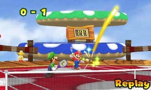 3DSおすすめソフトランキング:MARIO TENNIS OPEN (マリオテニスオープン) - 3DS