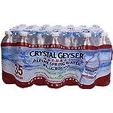 Crystal Geyser Bottled Water, 16.9 oz, 35 ct