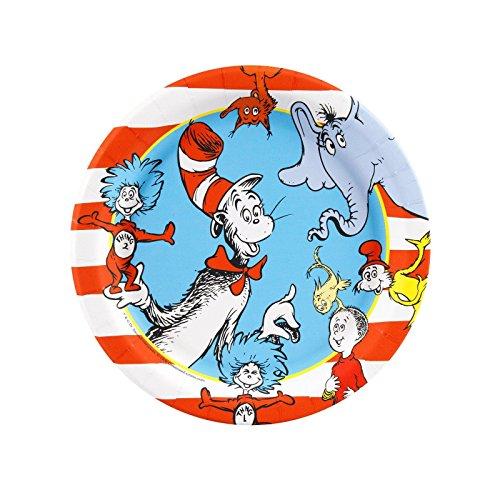 Dr. Seuss Dessert Plates (8)
