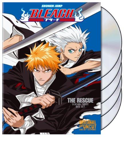 Bleach Uncut Box Set 3 (Bleach Anime Box Set compare prices)